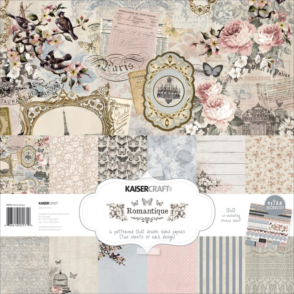 Kaisercraft Scrapbooking Paper Collections Stamps Ink